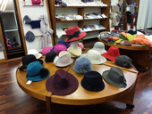 felt and thermoplastic hats